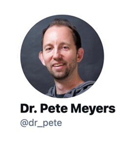 Dr Pete quored on Google having no obligation to marketers